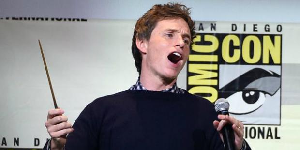 eddie redmayne comic-con