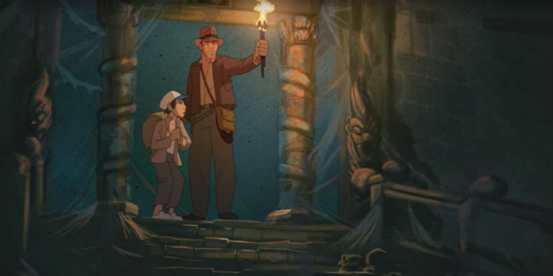 Indiana Jones Animated
